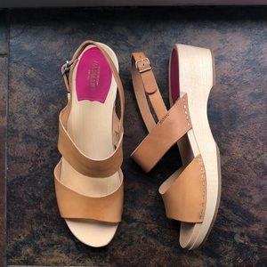 Swedish Hasbeens HELENA clog sandals (size 41)